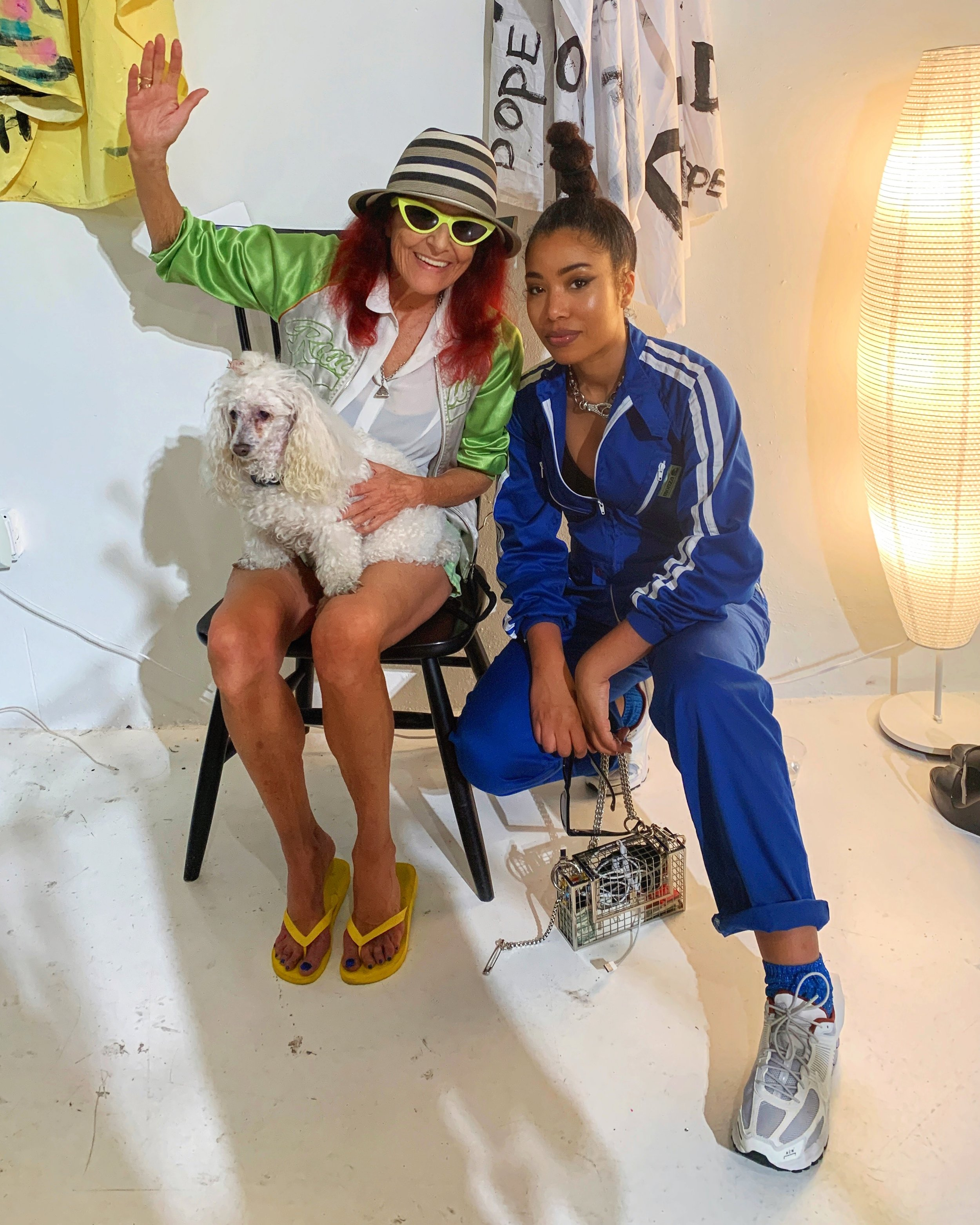 To top it off – ran into designer Patricia Field at the debut of her new collection!
