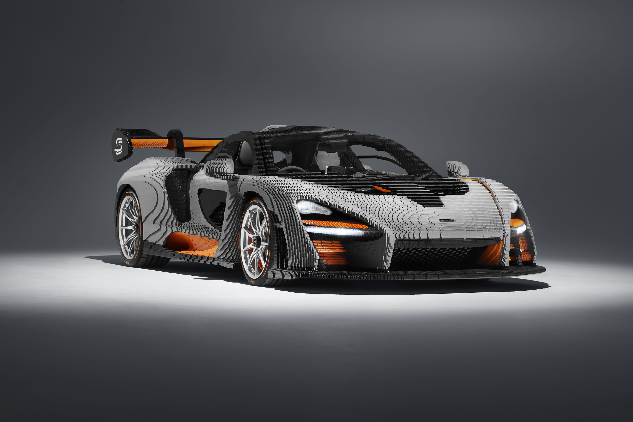 Lego Mclaren Senna A Blockish Twist On The Luxury Car Flaunt Magazine