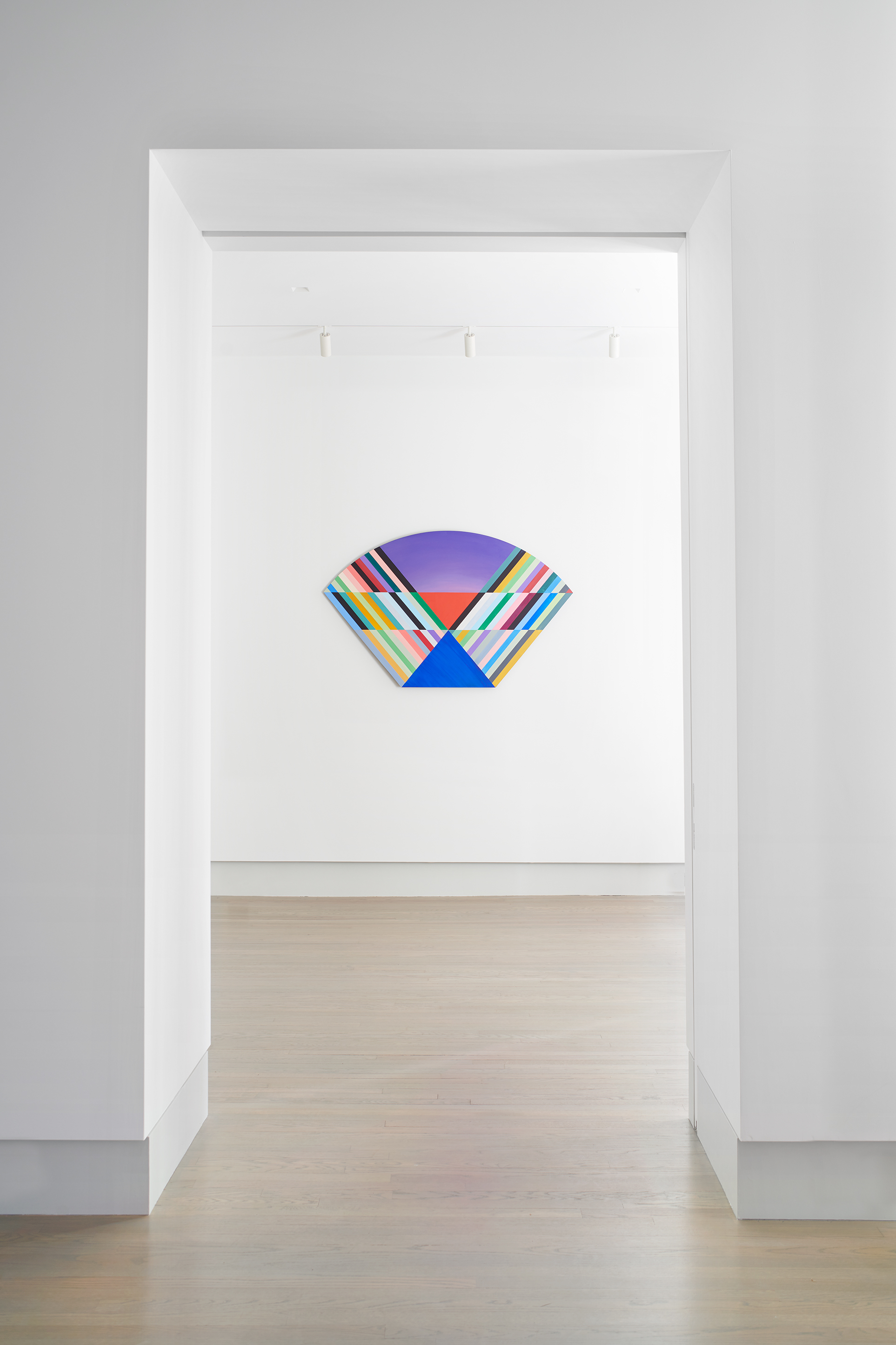 Installation view of Anton Ginzburg: VIEWs
