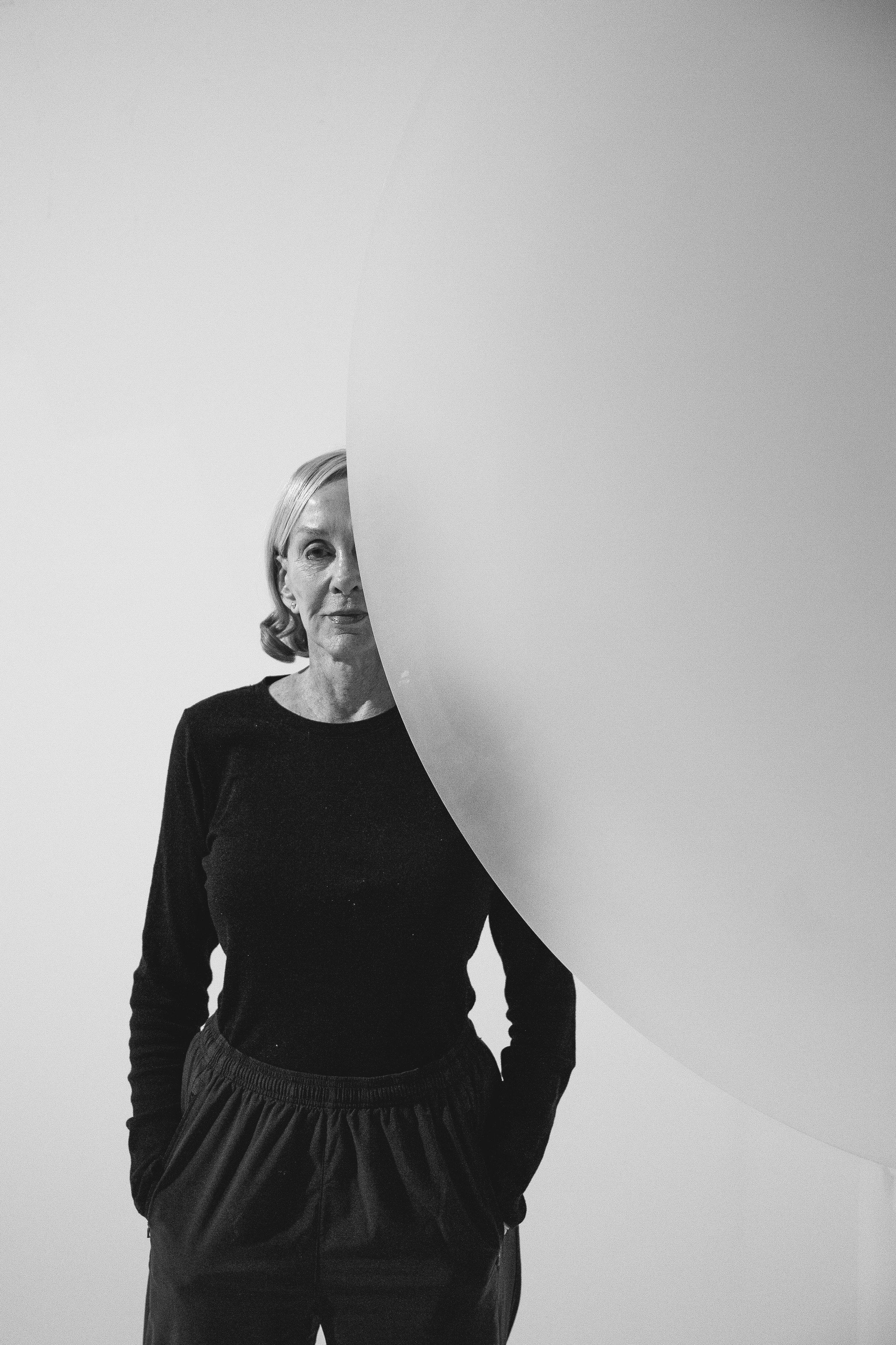 HELEN PASHGIAN photographed in her studio.