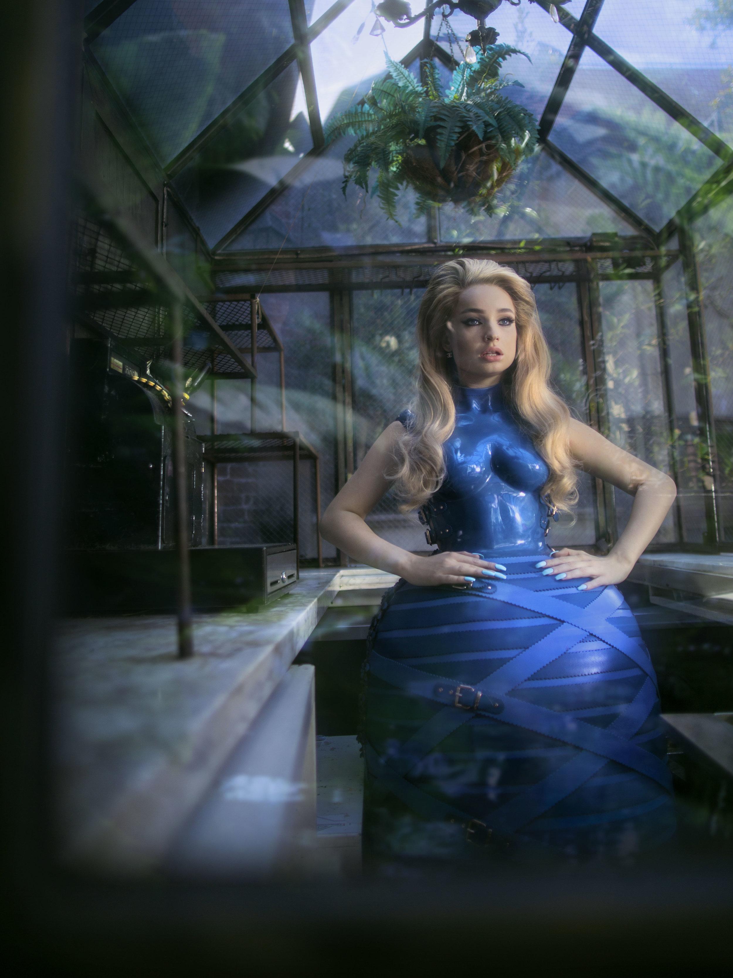 MARINA HOERMANSEDER     dress.