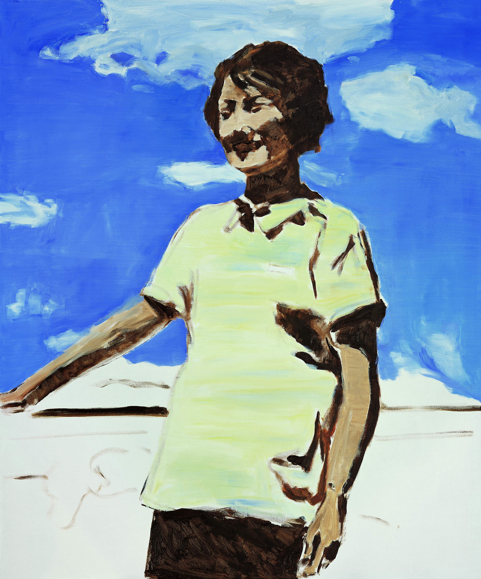 ZHAO GANG   .   The Good Times , 2007. Oil on canvas. 61 x 51 3/16 inches.  Courtesy of the artist and Jack Tilton Gallery