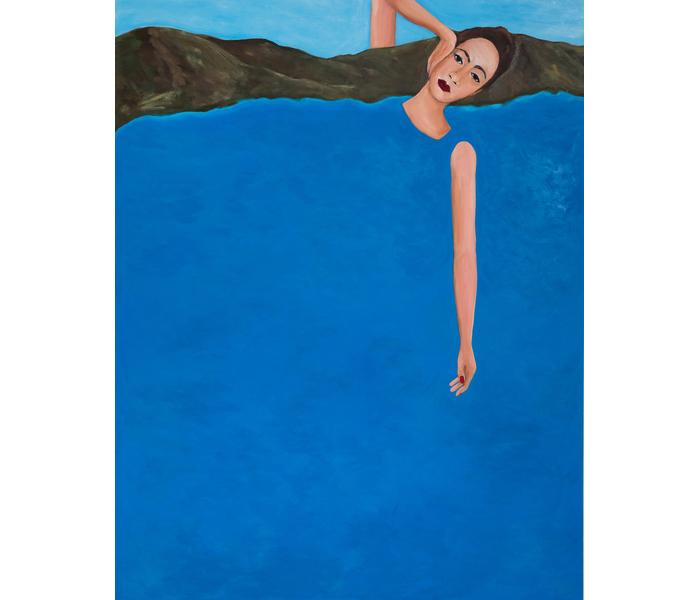 Allegorical Nude (2019) by Becky Kolsrud