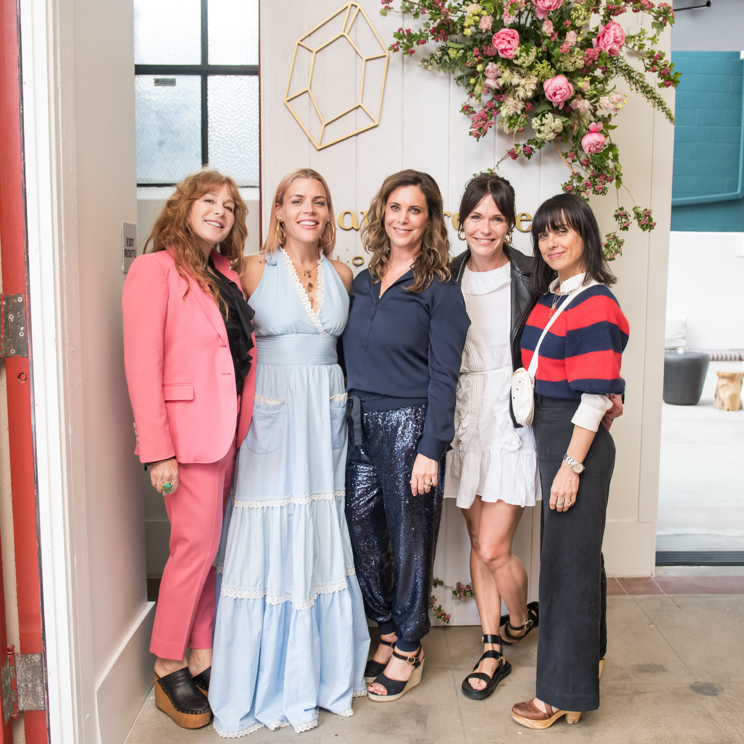 Kimberly Muller, Busy Philipps, Maya Brenner, Katie Aselton, Constance Zimmer at the 20th Anniversary Event
