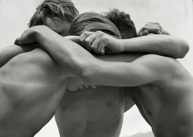 Wrestling Youth 1 , Baltic Sea, Germany, 1933