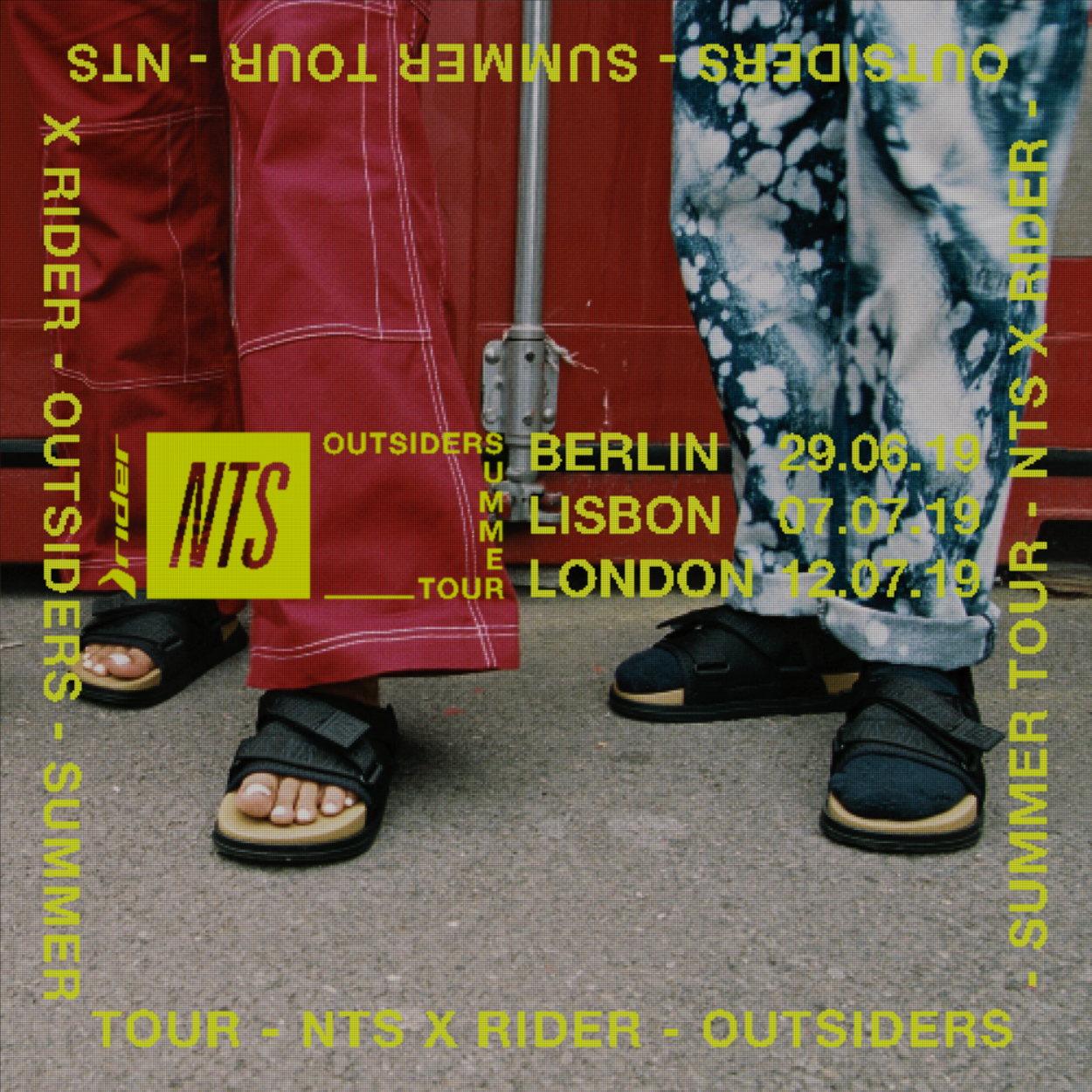 NTS x Rider -  Outsiders Summer Tour