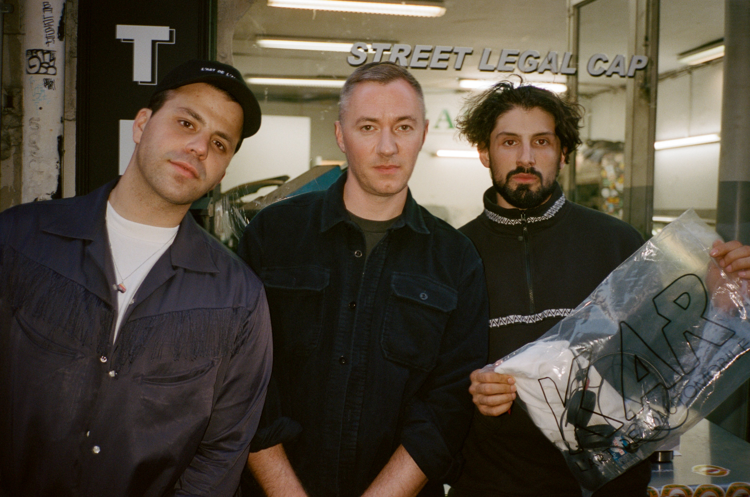 L'art de L'automobile DJ team: Sweetboydaniel Benji B Pedro Cavaliere