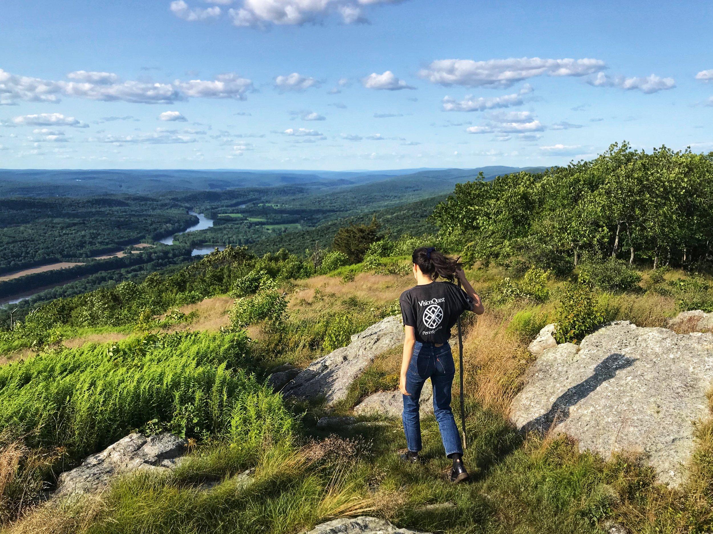 Pre-trip hike. Appalachian Trail, Sussex County, NJ.