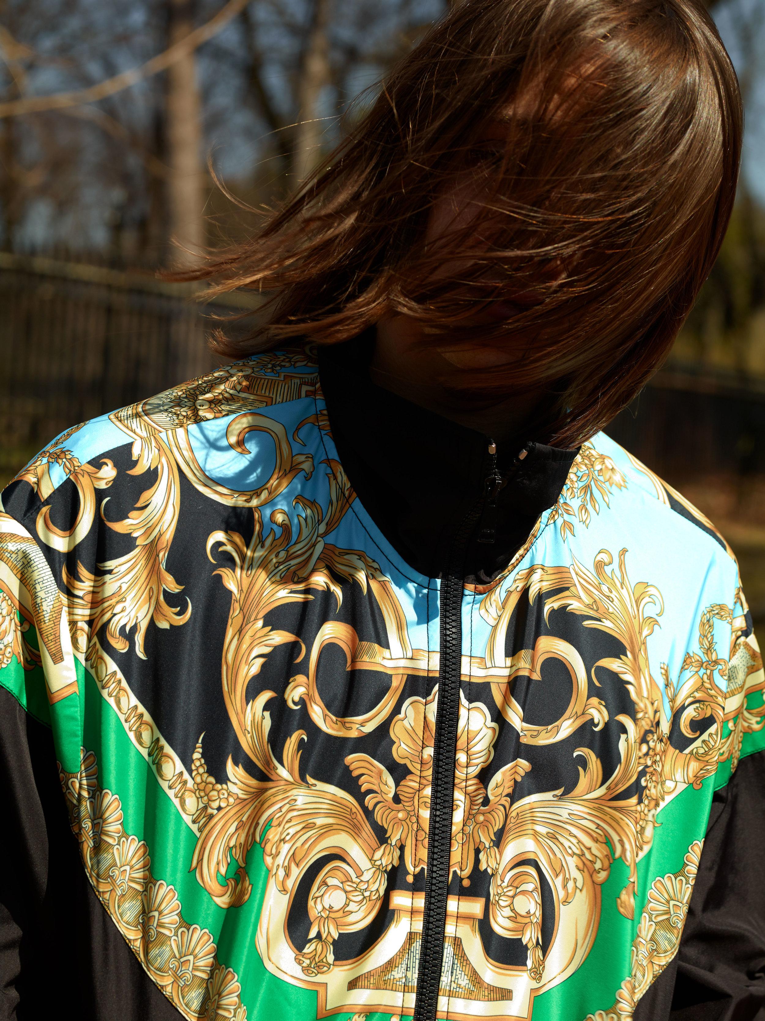 VERSACE     jacket.