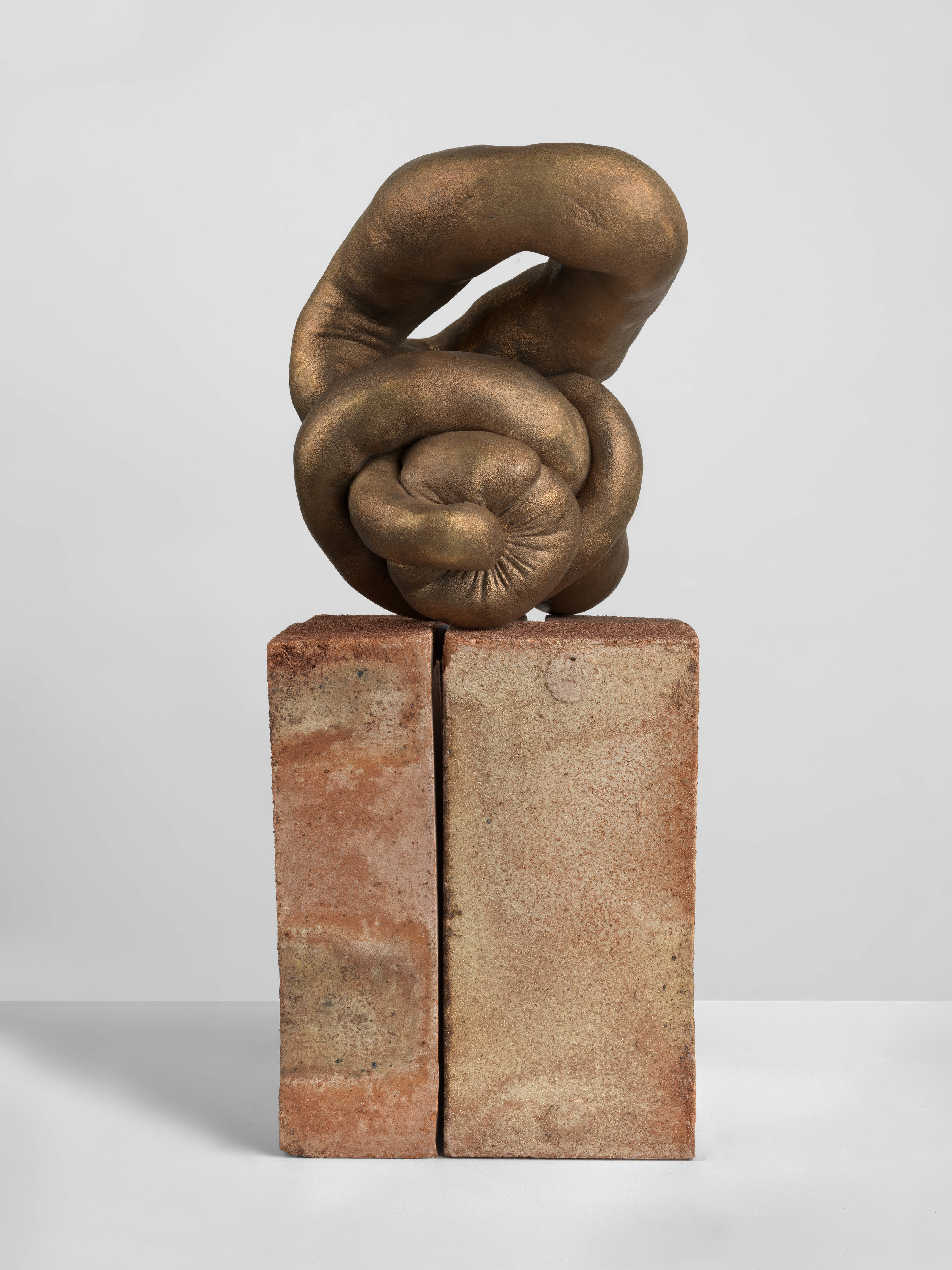 "Sarah Lucas ""HARD NUD"" 2012. Cast bronze, 7 1/8 x 9 7/8 x 6 1/4 in. © Sarah Lucas. Courtesy Sadie Coles HQ, London"