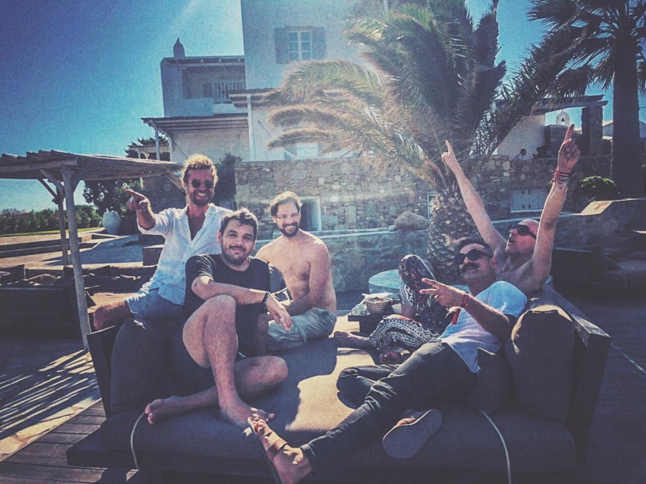 DJs without a cause. Or, maybe, a lost cause? Lee Burridge, Yokoo, Facundo Mohrr, Tommy and Christos.