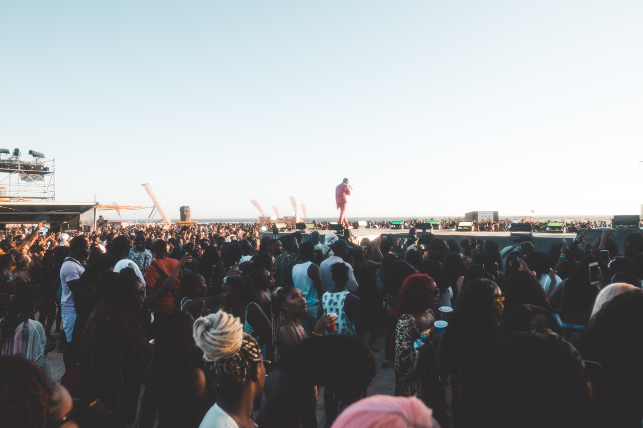 """""""Nothing makes me more happy than to see a crowd full of black faces. Seeing us all congregate together and being ourselves is so heartwarming and special."""""""