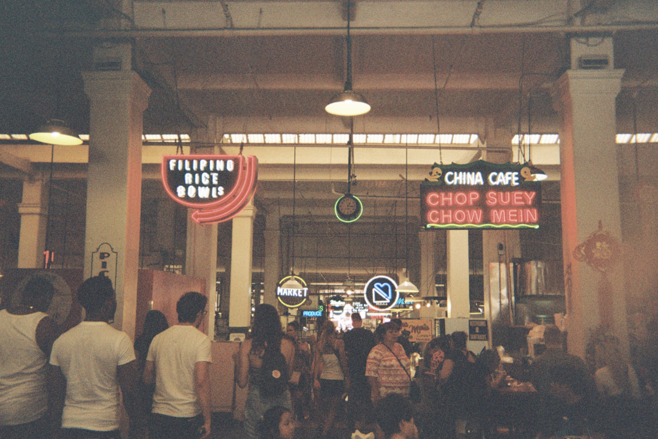 I love eating at Grand Central Market, the Filipino stall 'Sari Sari' in particular is TD4. I'm often there, sitting at the bar, slurping on a mango smoothie.