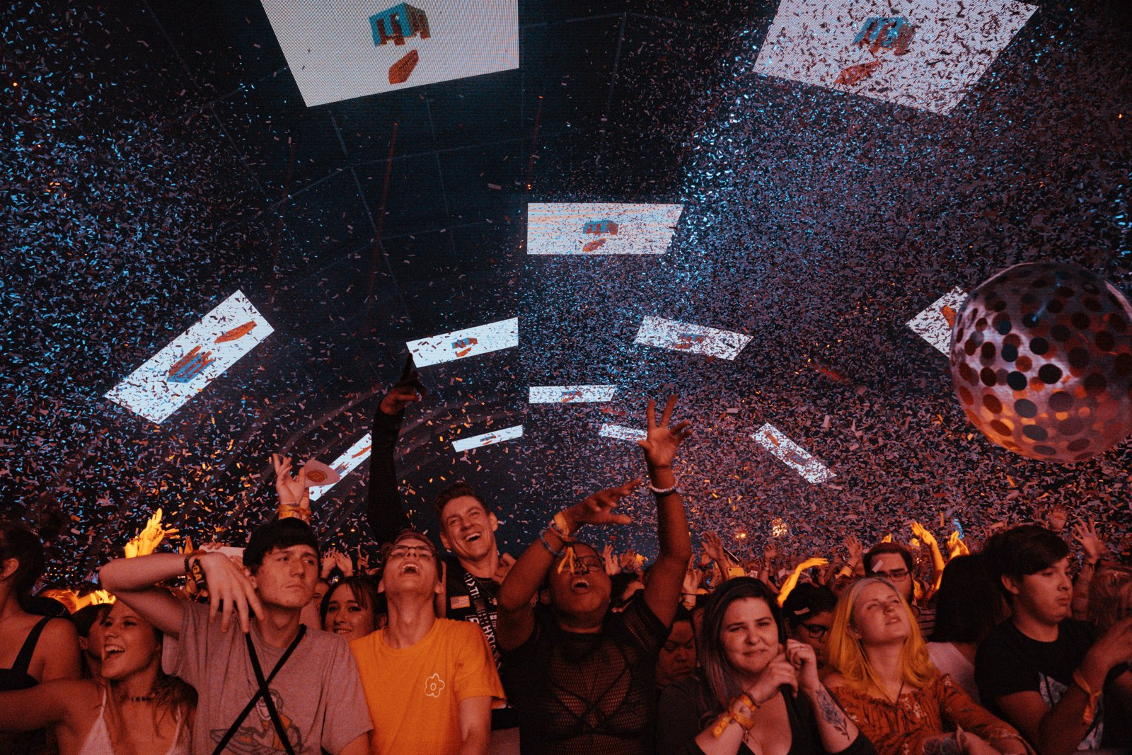 pure euphoria with a splash of confetti   Photo by Carter Howe
