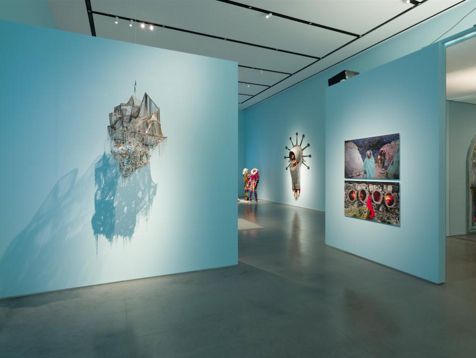 Installation view:  Utopian Imagination , Ford Foundation Gallery, September 17 - December 7, 2019