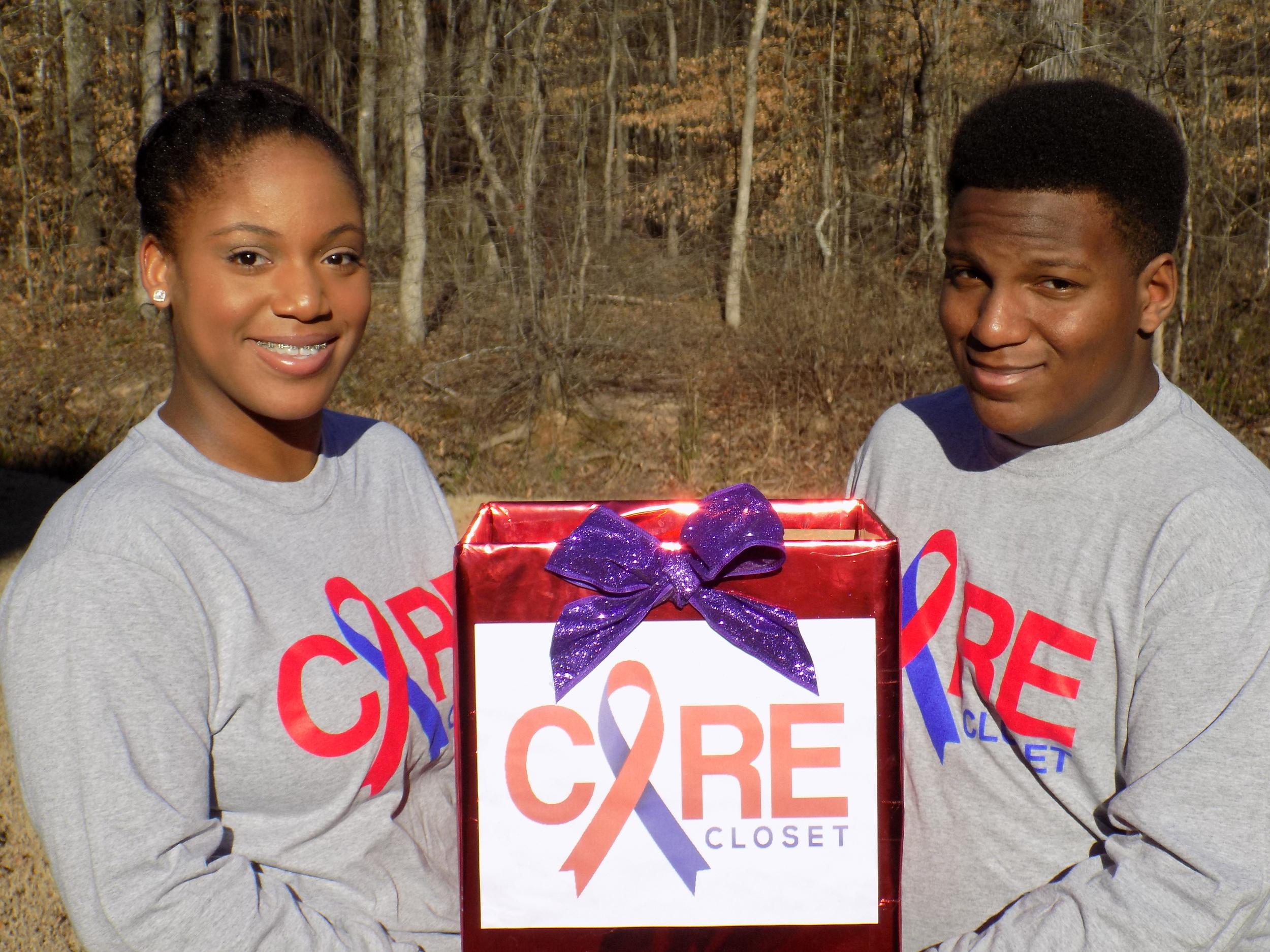 CARE Closet founders Lauren and Steven S.