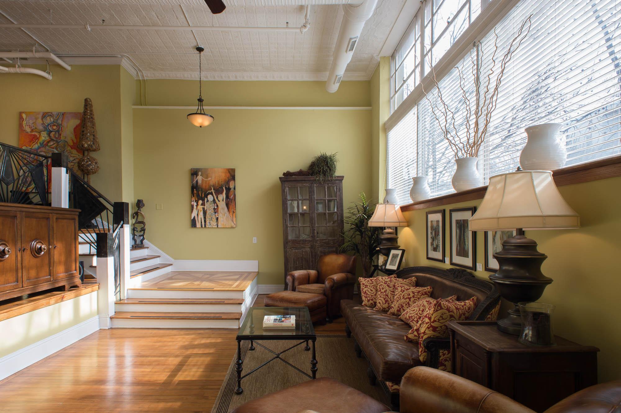 Living Room - Mezzanine