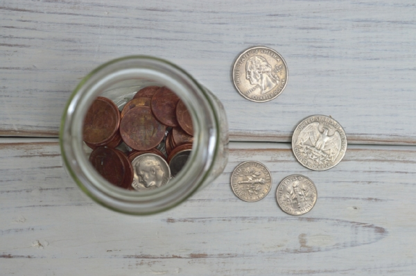 Every penny counts courtesy of Pexels.com