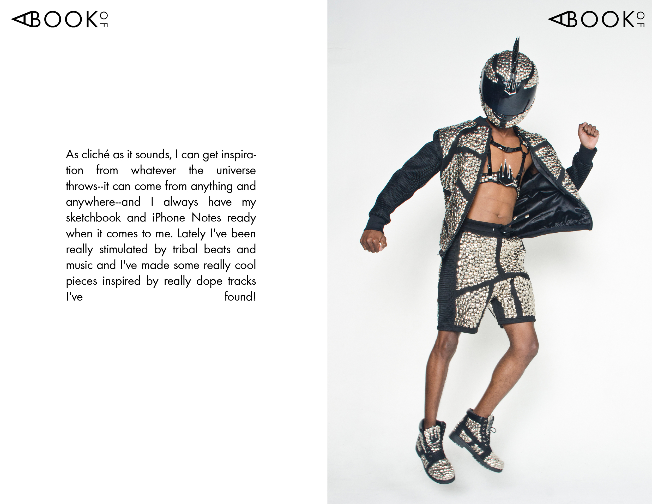 Fashion Designer Michael Ngo A Book Of Magazine
