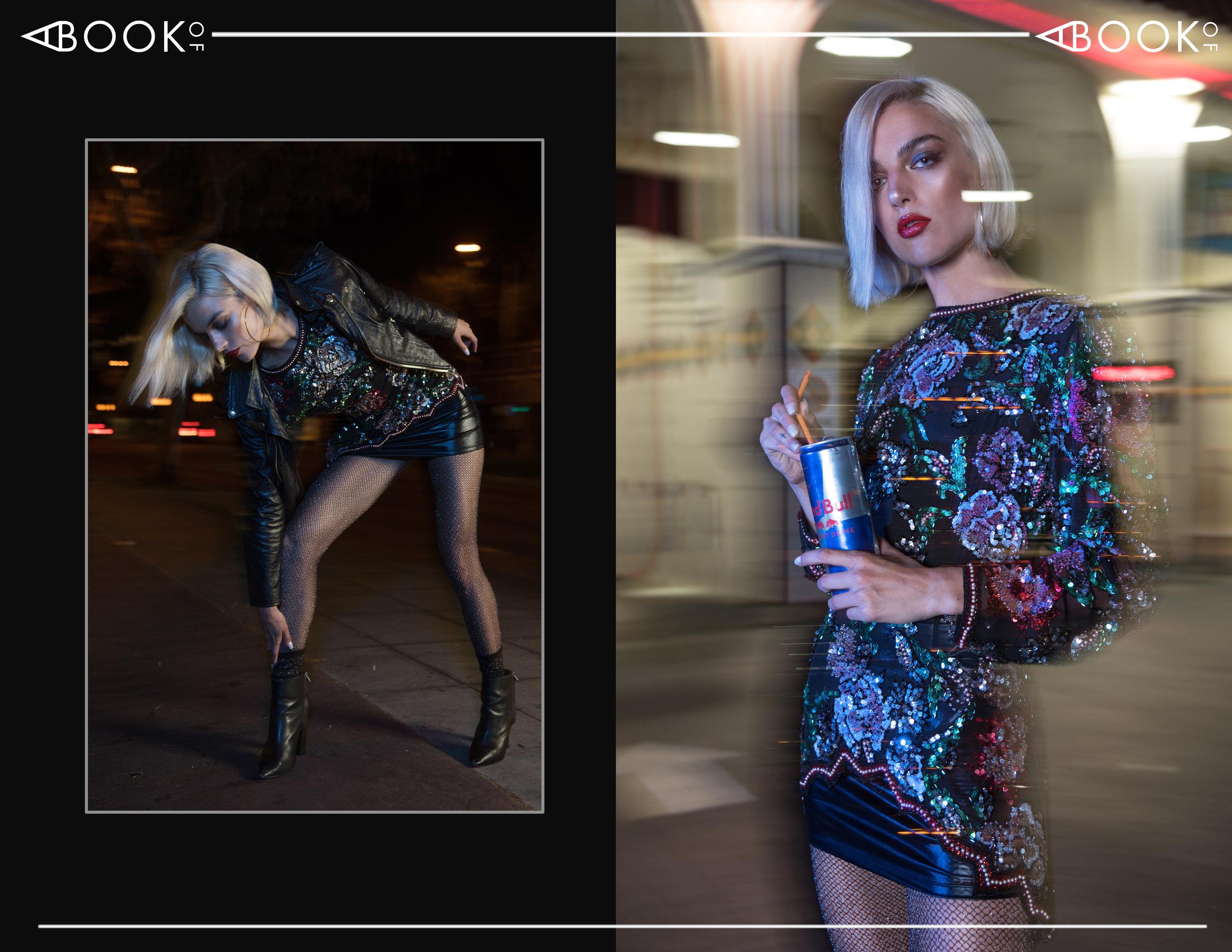 Top - Vintage | Skirt - Syren | Jacket - Alexia Ulibarri | Booties- Chloe