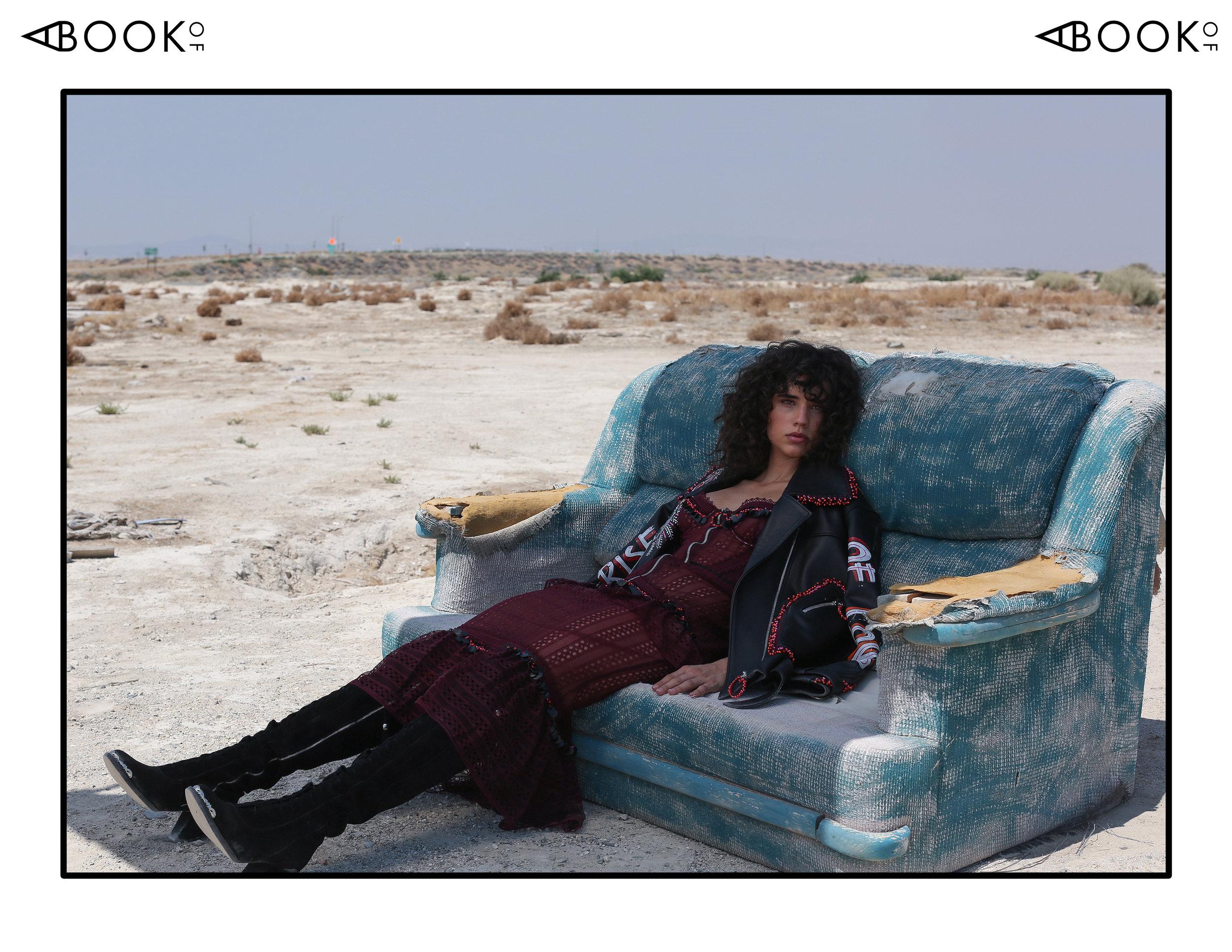 Dress & Jacket: Zeynep Tosun, Boots: Spell