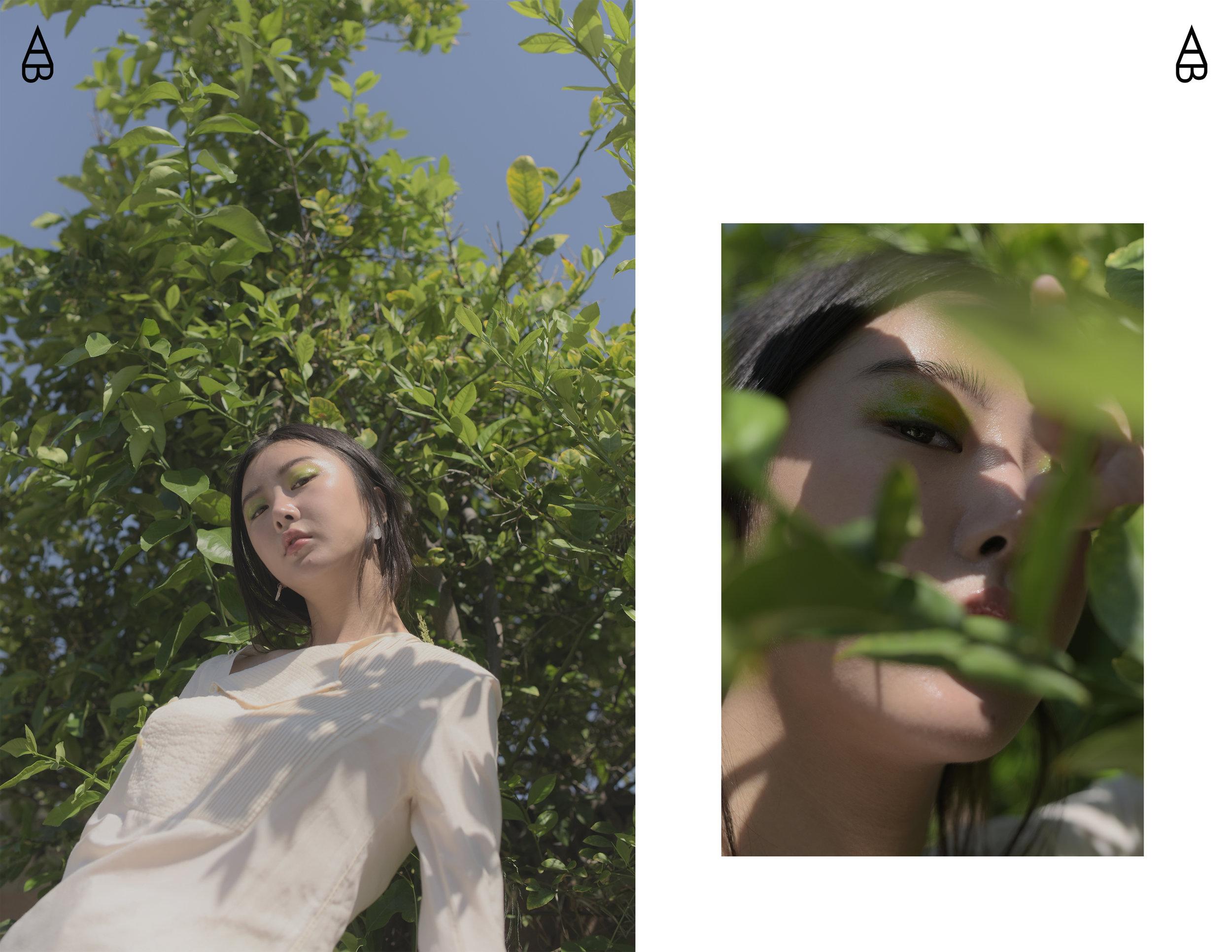Top:  Lam Gia Khang   Earring:  COS