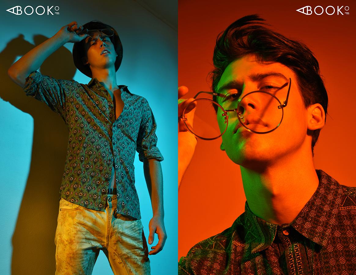 LEFT: Shirt  RAGA MAN  | Jeans  A. TIZIANO  | Bucket Hat -  PUBLISH BRAND  | Glasses  ZERO UV  ZERO UV   RIGHT: Shirt  RAGA MAN  | Glasses  ZERO UV  ZERO UV