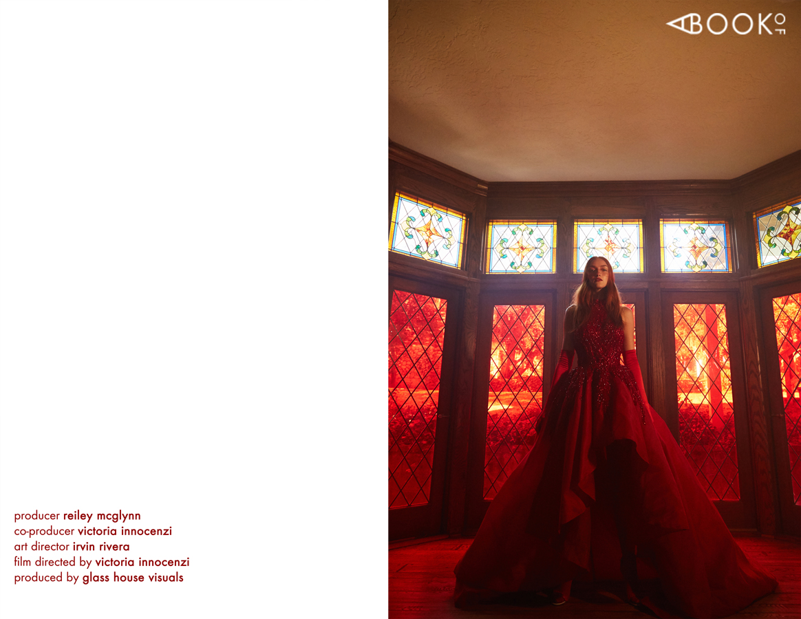 Dress  ELIE MADI  FOR THE STARS FASHION HOUSE | Shoes  ELISABETTA FRANCHI  | Ring  CHARLIE LAPSON