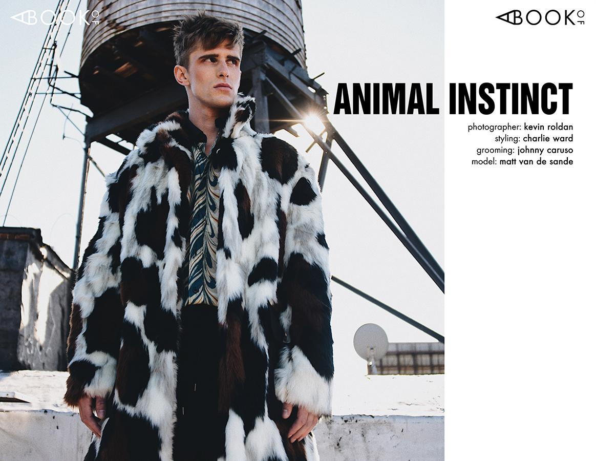 Faux Fur Coat -  Kenzo , Shirt -  Dries Van Noten , Pants -  CMMN SWDN