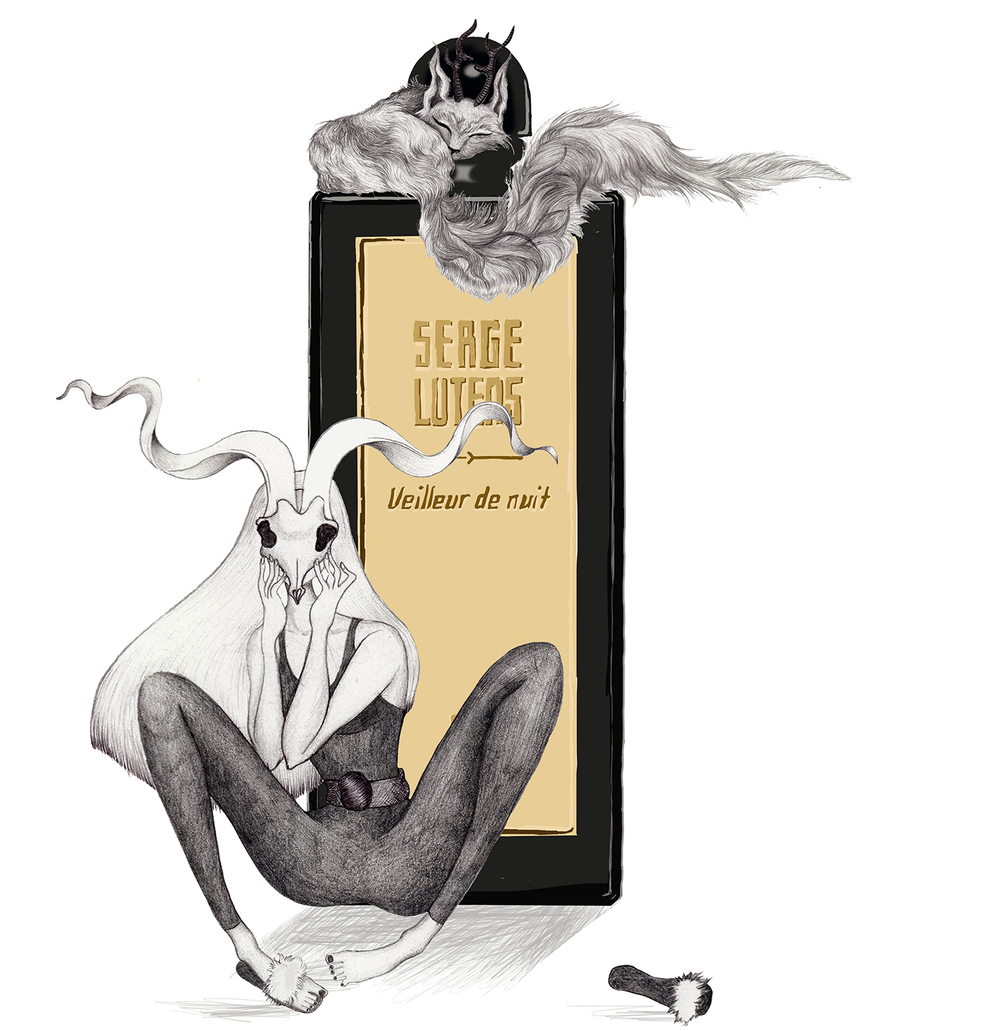 "work of a perfume brand ""serge lutens"" 