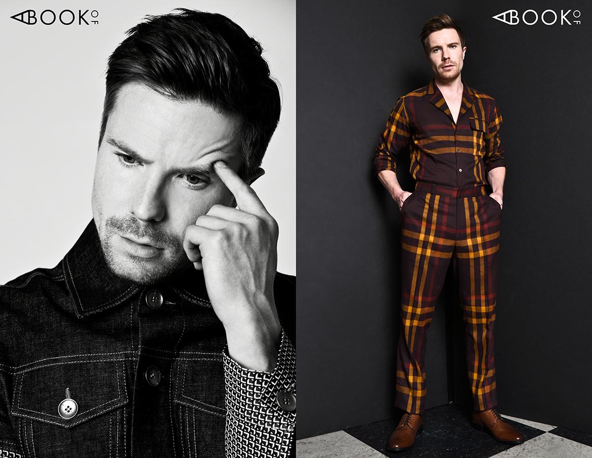 LEFT:  Turtleneck : Cos, Jacket: Calvin Luo  RIGHT:  Shirt & Pants : DZOJCHEN, Boots : Taft