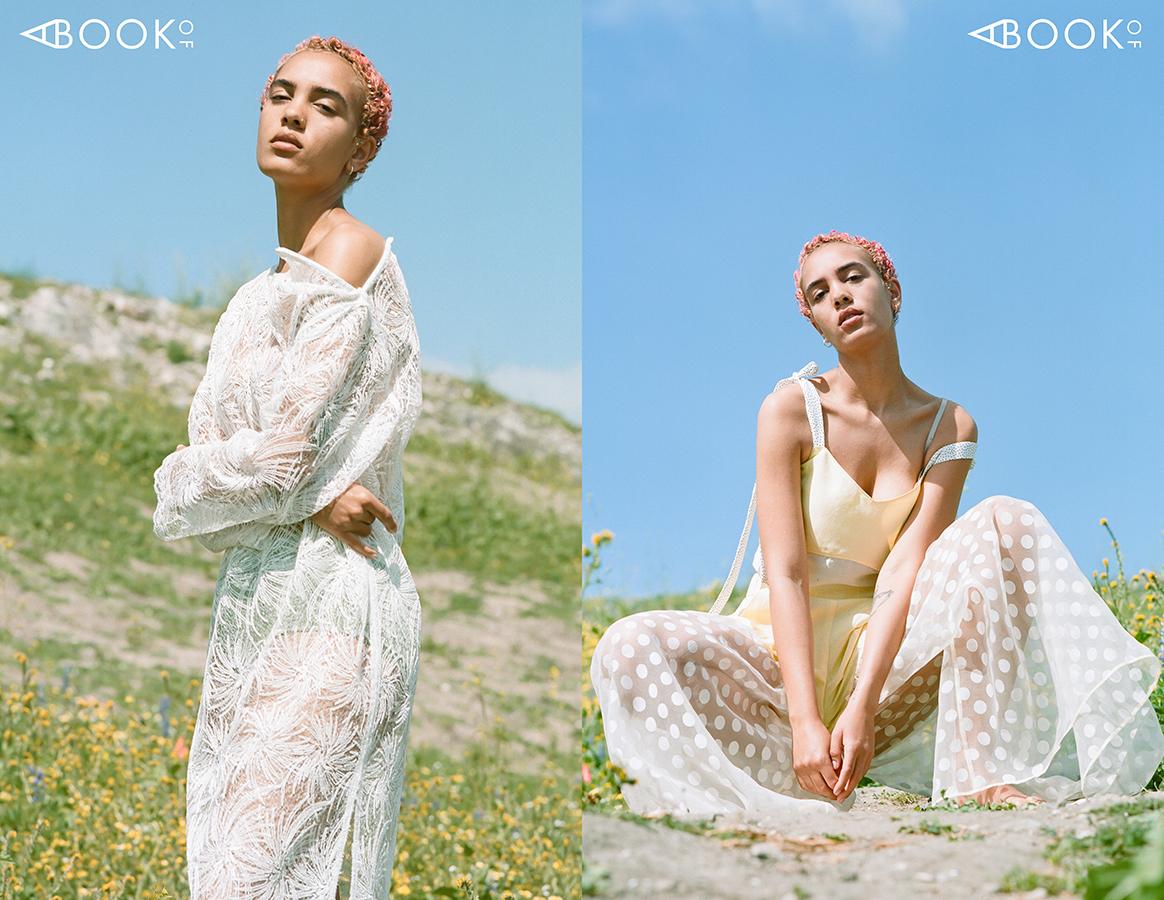 LEFT:  Dress: CENTURYCLO, Hipster: Hanky Panky, Jewelry: Vintage  RIGHT:  Top: NOIXTE, Pants: NOIXTE, Jewelry: Vintage