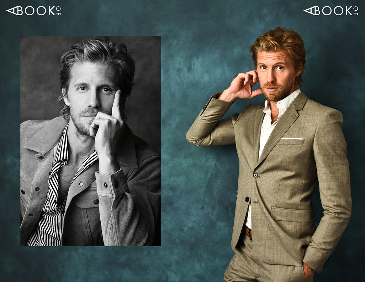 LEFT: Jacket: NEW YORK AND CO, Shirt: THE KOOPLES, Pants: ALLSAINTS RIGHT: Suit: THE KOOPLES, Shirt: CALVIN KLEIN