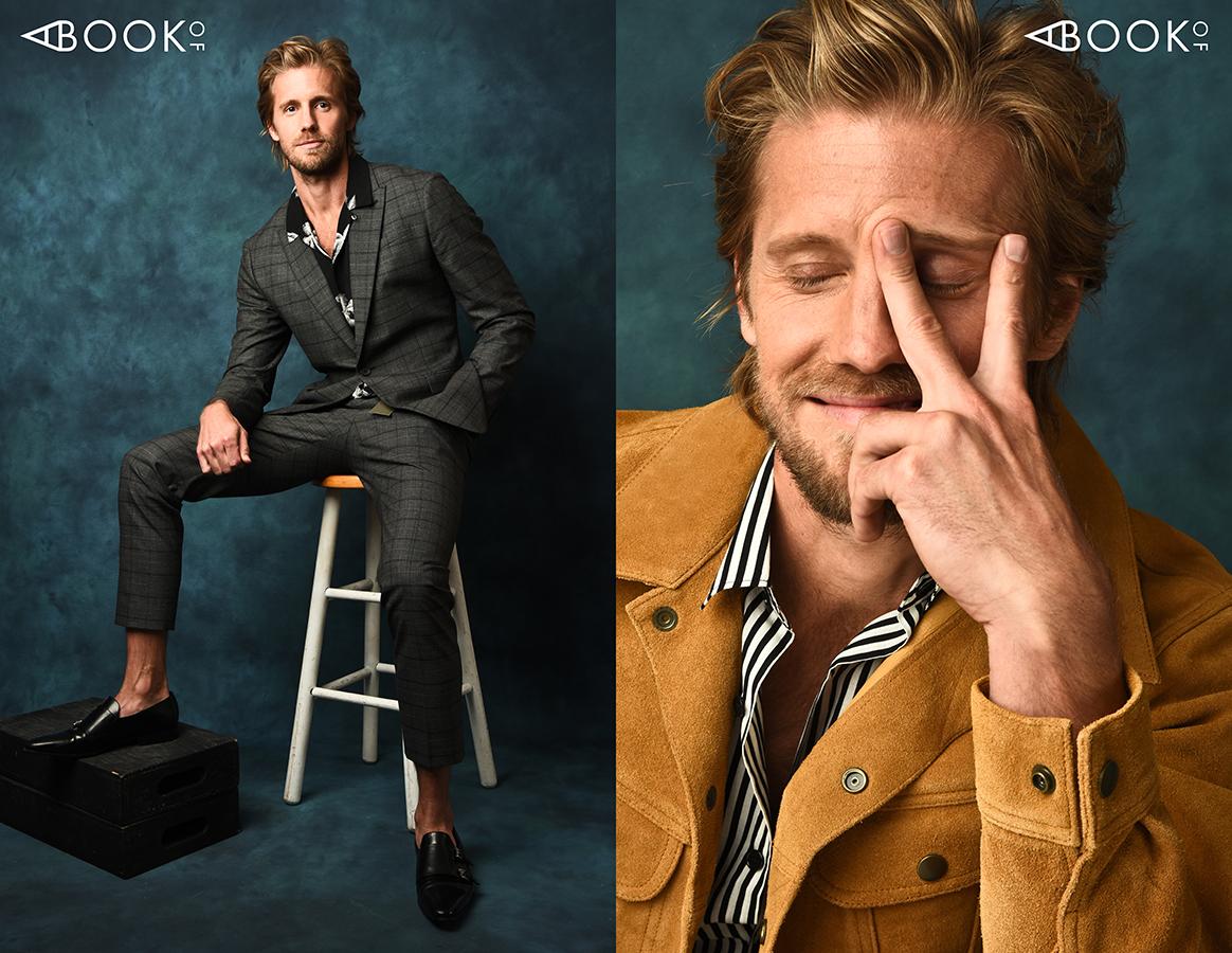 LEFT: Suit & Shirt: ALLSAINTS, Shoes: CESARE PACIOTTI RIGHT: Jacket: NEW YORK AND CO, Shirt: THE KOOPLES
