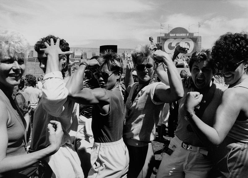 Ann Patricia Meredith, Lesbian Physique, Gay Games II-Triumph in '86 San Francisco, CA, 1986