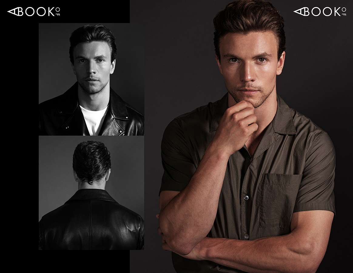 LEFT:  Shirt: SANDRO,   Leather Jacket: BELSTAFF  RIGHT:  Shirt: ARKET