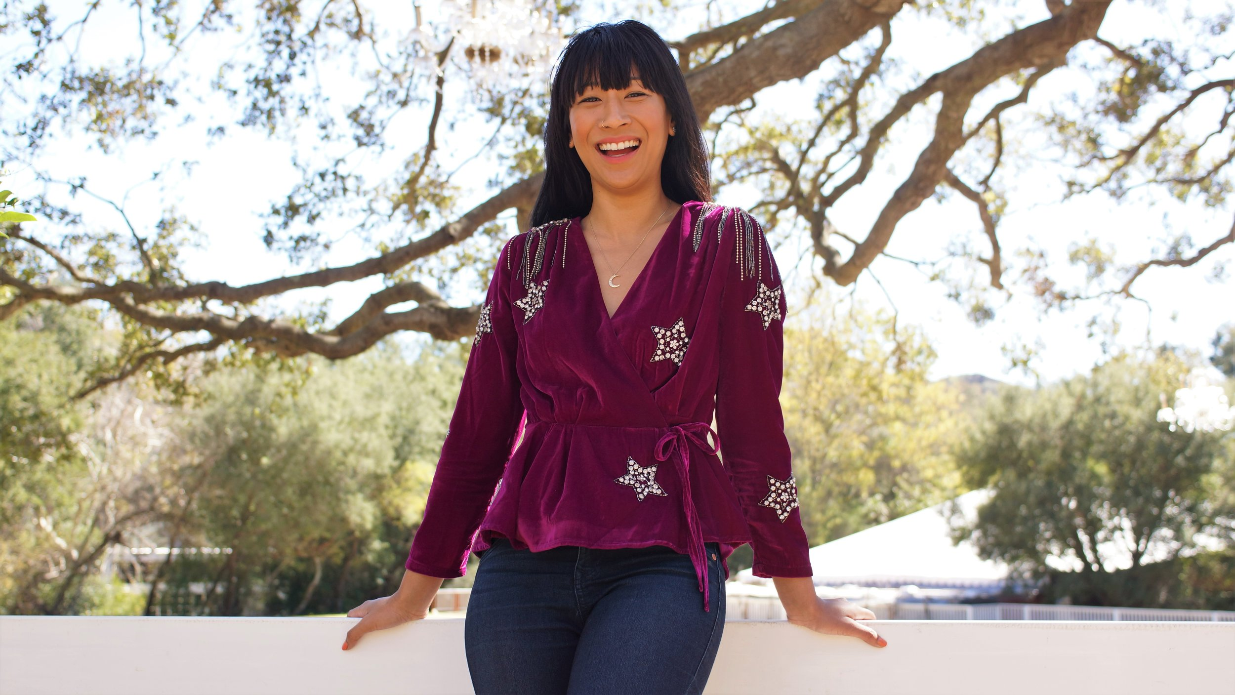 June Suepunpuck  is a spiritual fashion stylist and CEO & co-founder of the lifestyle blog,  Soma & Ulte . She is an advocate of the beauty within. June's mission is to help people see their soul's purpose and embody their gifts from head to toe. Photo by: Constance Ward