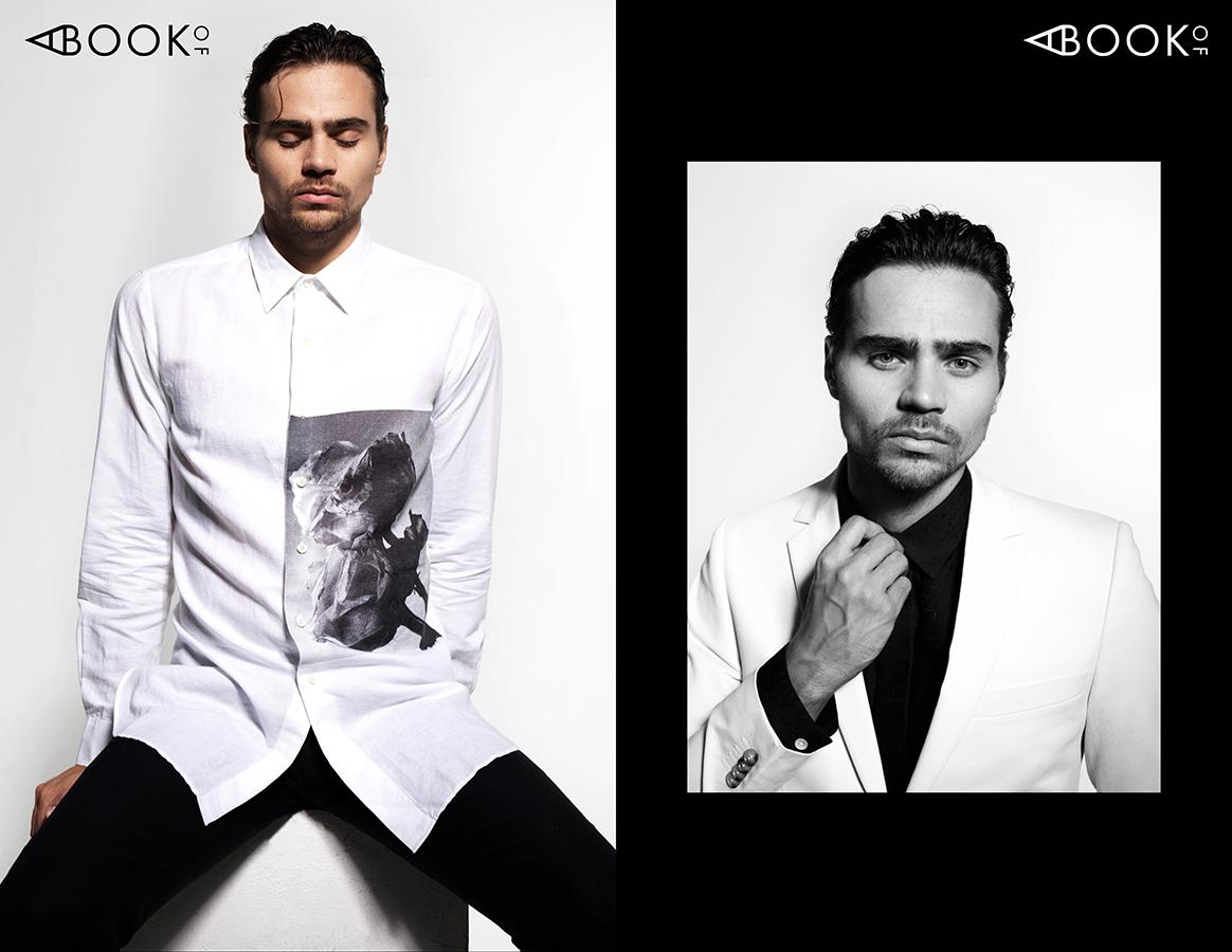 LEFT:  Shirt & Pants: KENT & CURWEN  RIGHT:  Suit: TIGER OF SWEDEN, Shirt: BERLUTI