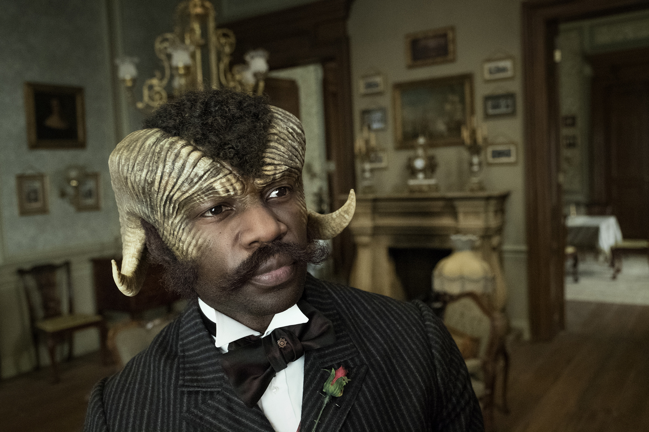 David Gyasi as Agreus Astrayon from Carnival Row / Photo provided by Amazon Prime Video