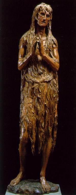 Fig. 2 Donatello,  Penitent Magdalene , 1454