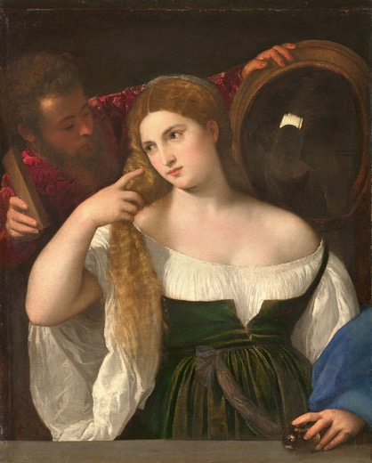 Fig. 4 Titian, Woman at her Toilette, c.1515