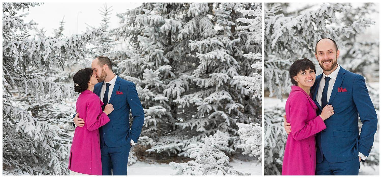 calgary winter wedding Sarah beau photography