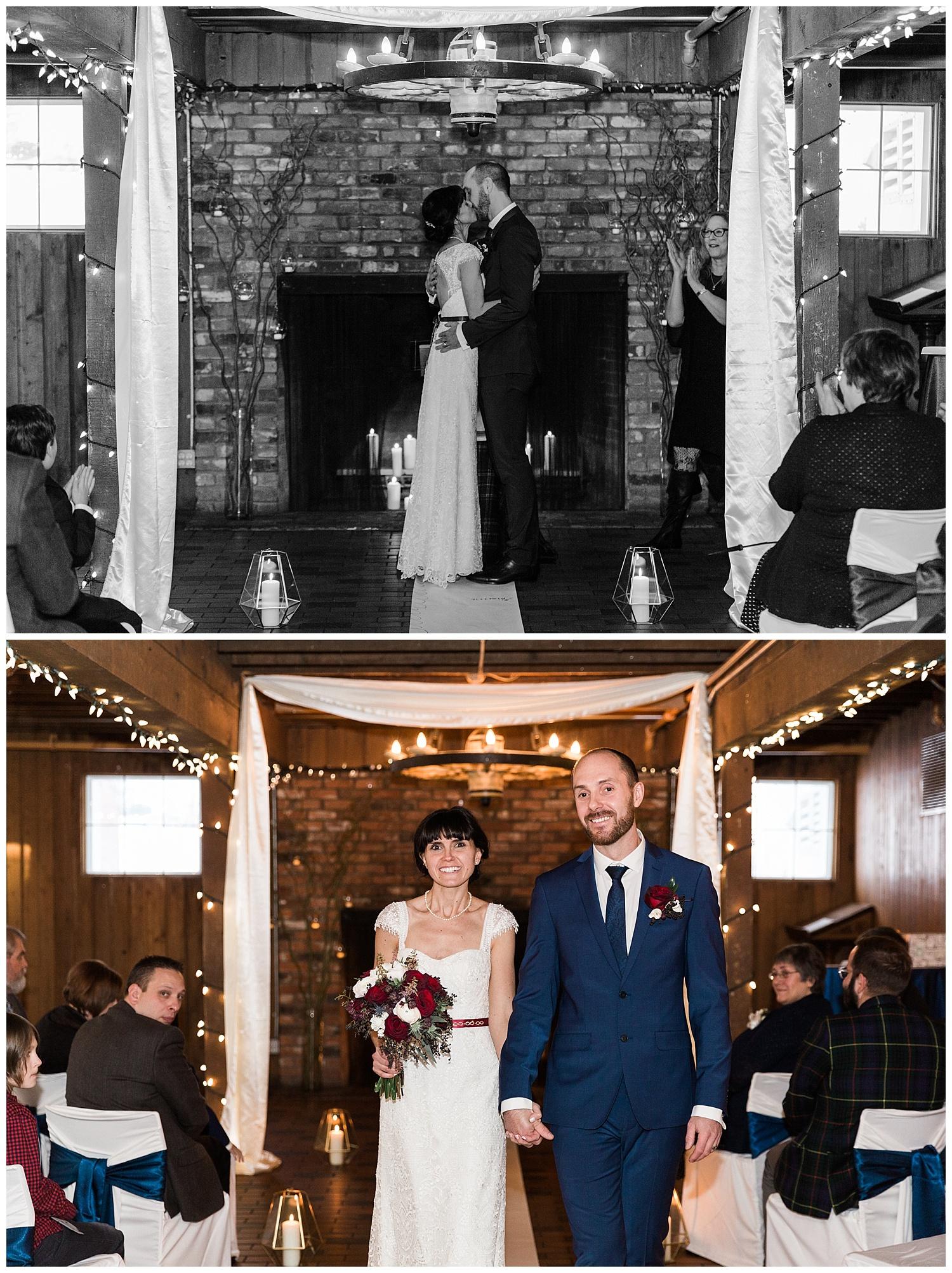 Winter Wedding Calgary Shawnessy Barn YYC Elopement Photographer