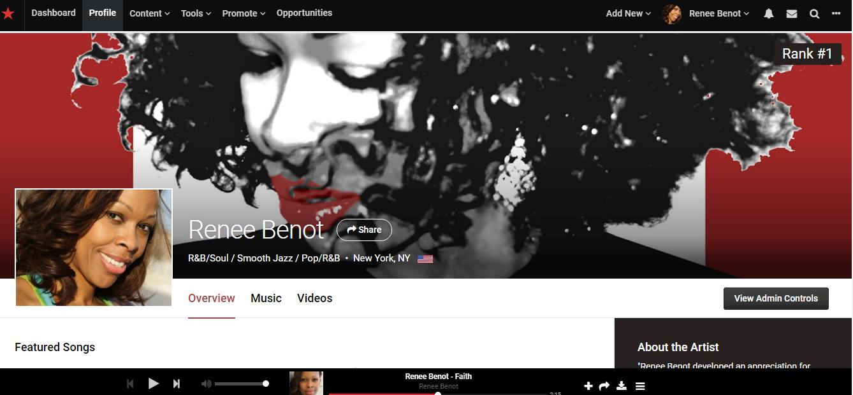 Stream and/or download music on Apple Music, iTunes, Tidal, Deezer, Amazon, CD Baby,  www.reneebenot.com