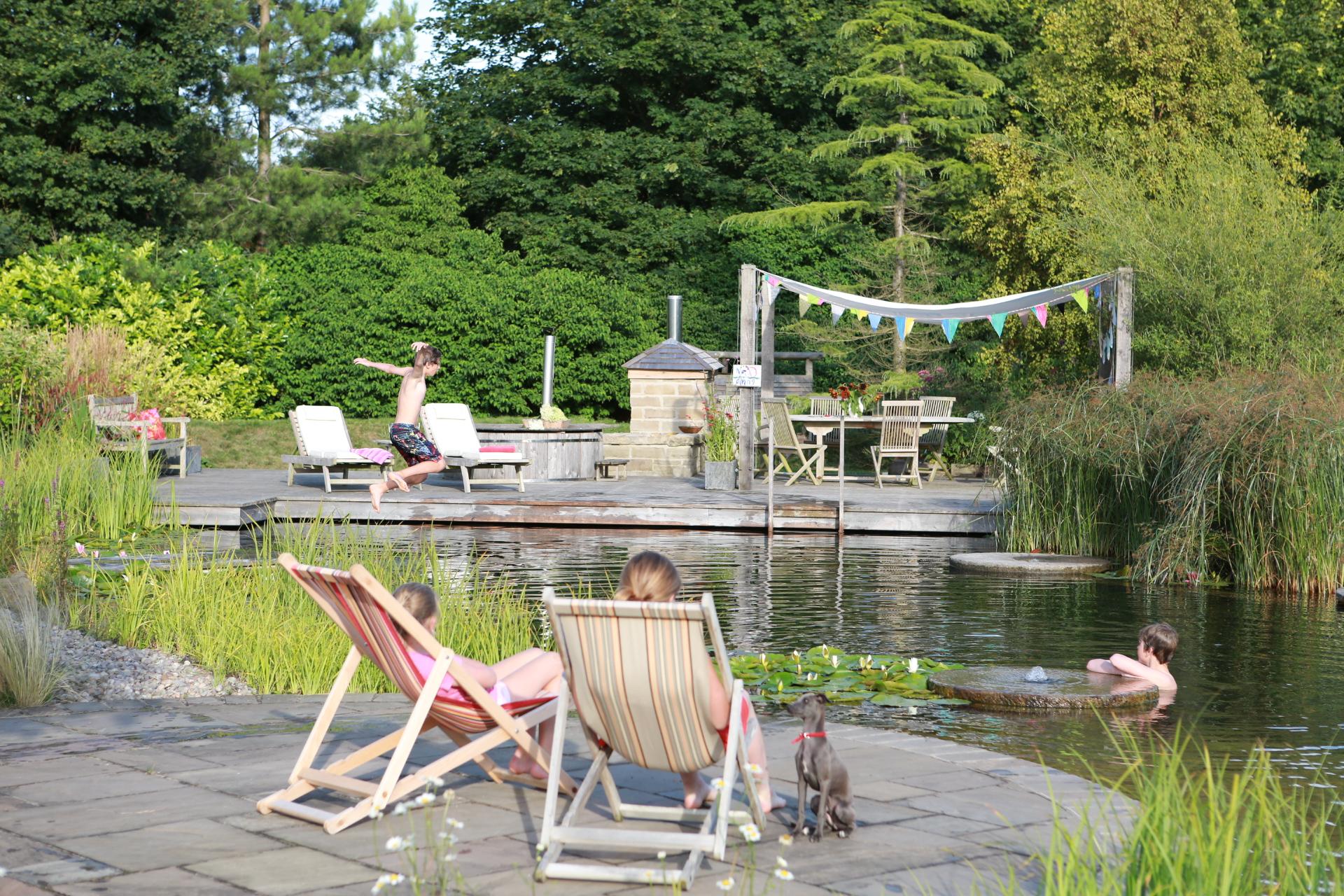 Summer fun Ellicar Natural Pool