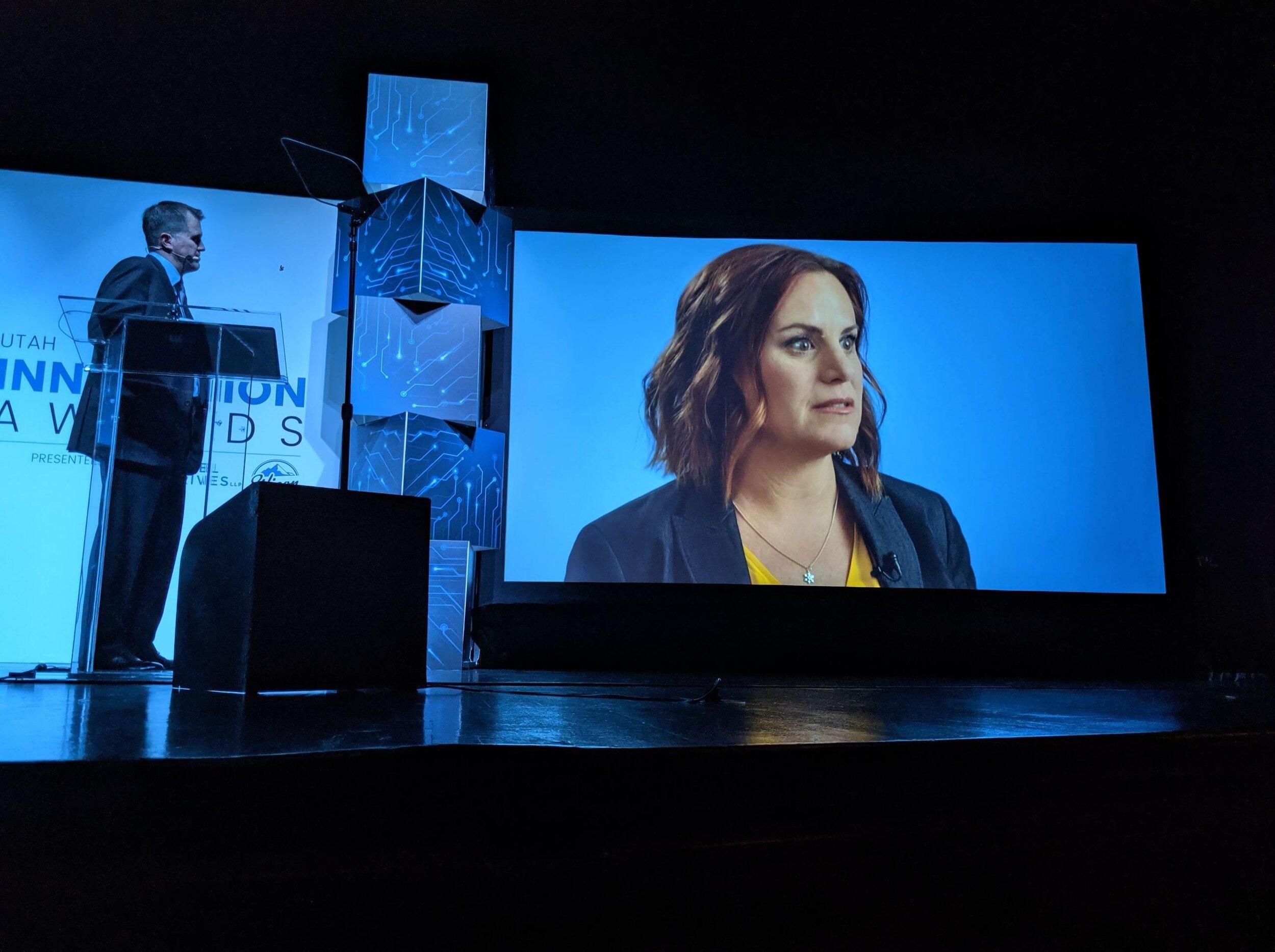 Tara Spalding's encouraging words presented to 400 + entrepreneurs during the award ceremony.
