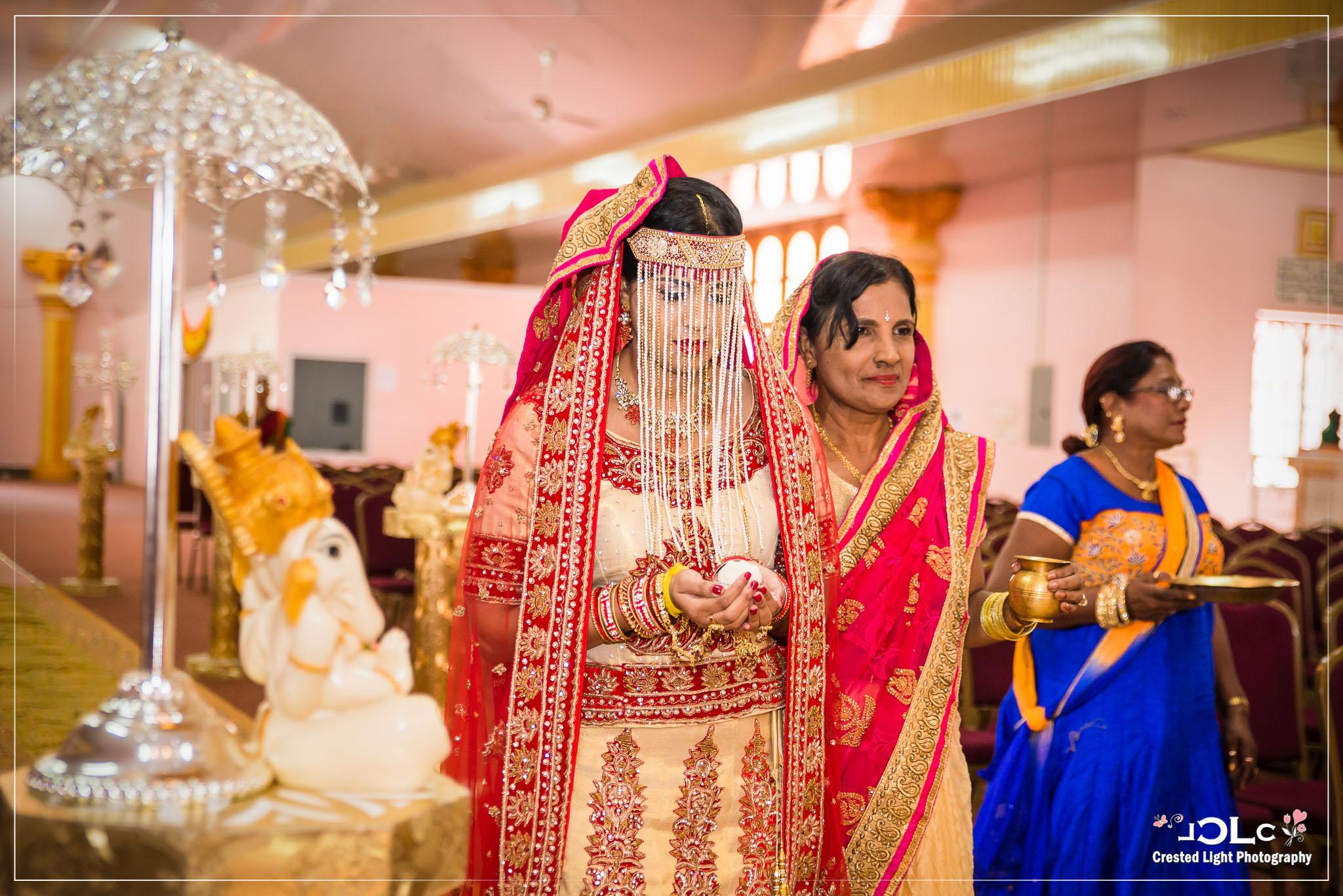 Hindu Wedding Ceremony at Sri Dattatreya Temple and Hanuman Murti in Carapichaima Trinidad