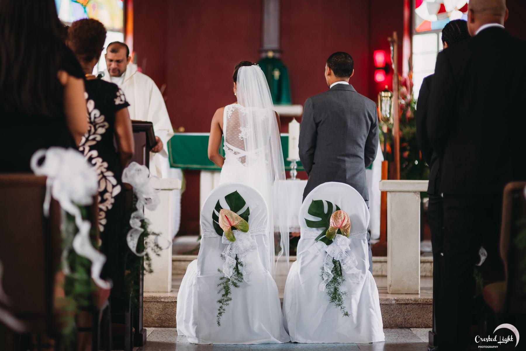 Wedding at Holy Cross Church Santa Cruz