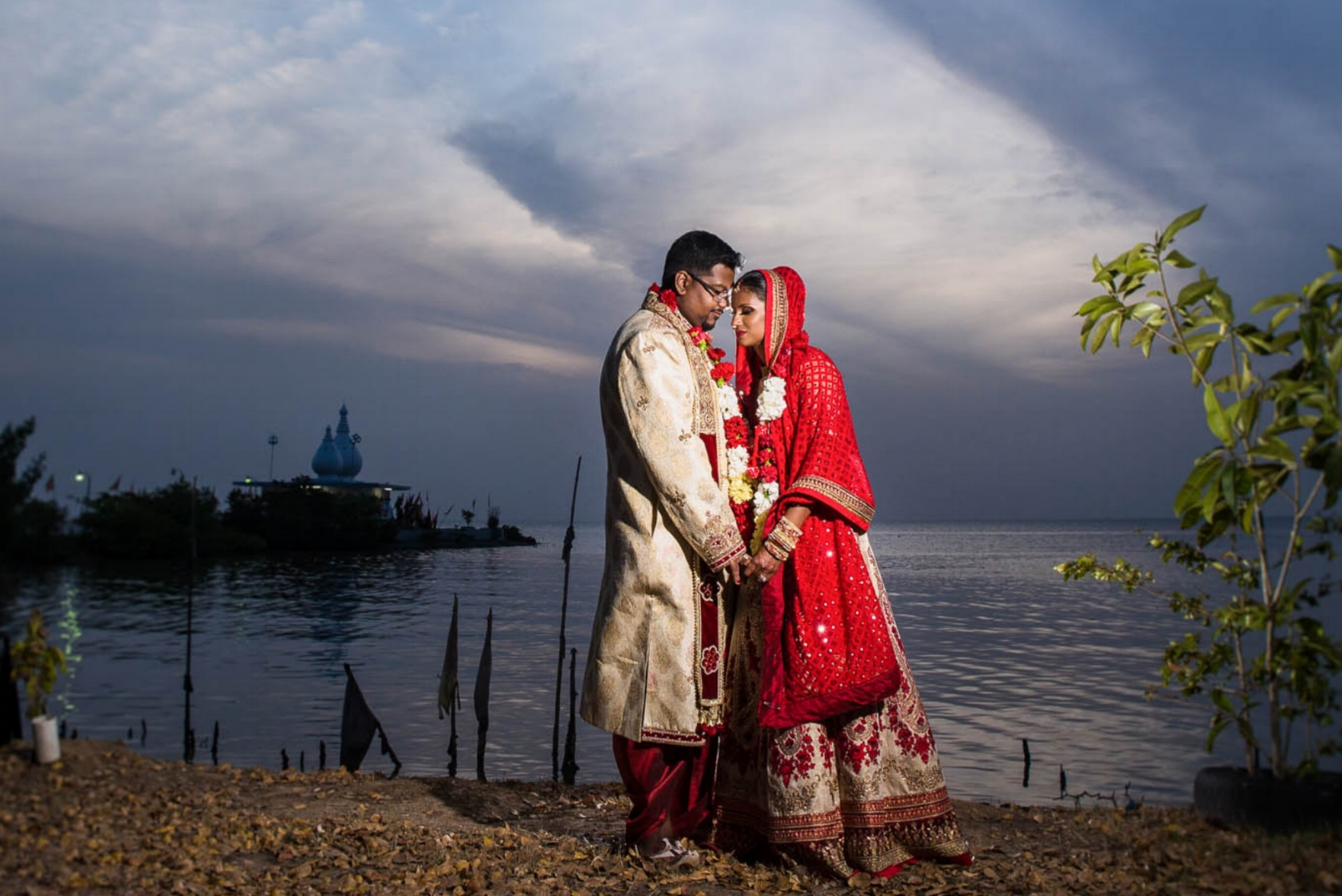 Temply by the Sea Waterloo Trinidad Hindu wedding 06.jpg