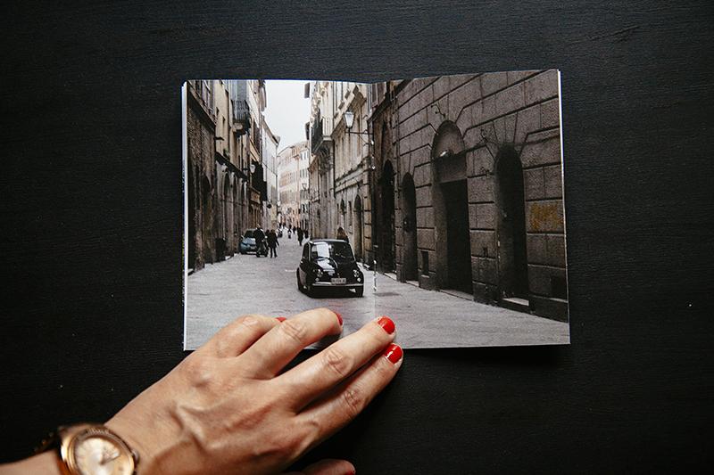 Fotolibro   waiting for Sophie  de Ana Zaragoza editado por Caravanbook.